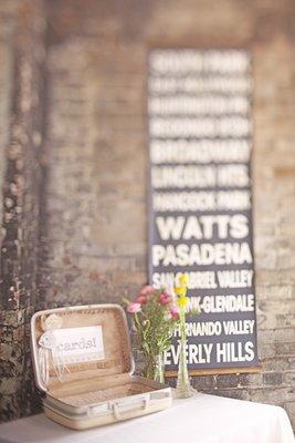 Flowers & Decor, Real Weddings, Wedding Style, Modern Real Weddings, Summer Weddings, West Coast Real Weddings, City Real Weddings, Summer Real Weddings, City Weddings, Modern Weddings, Vintage Wedding Flowers & Decor