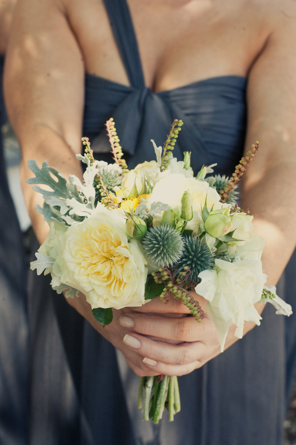 Flowers & Decor, Real Weddings, Wedding Style, yellow, Bridesmaid Bouquets, Summer Weddings, West Coast Real Weddings, Summer Real Weddings, Summer Wedding Flowers & Decor