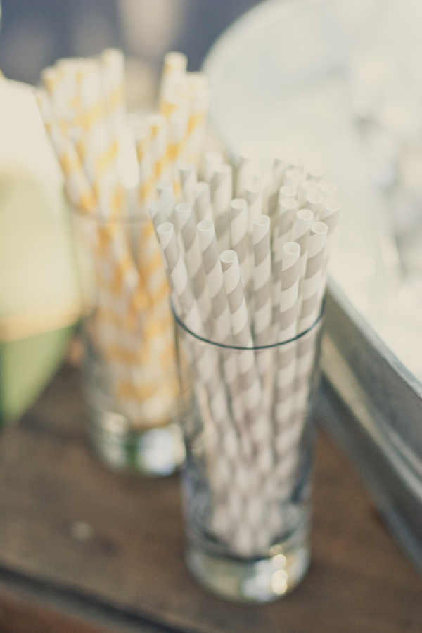 Real Weddings, Wedding Style, Summer Weddings, West Coast Real Weddings, Summer Real Weddings, Straws, Food & Drink
