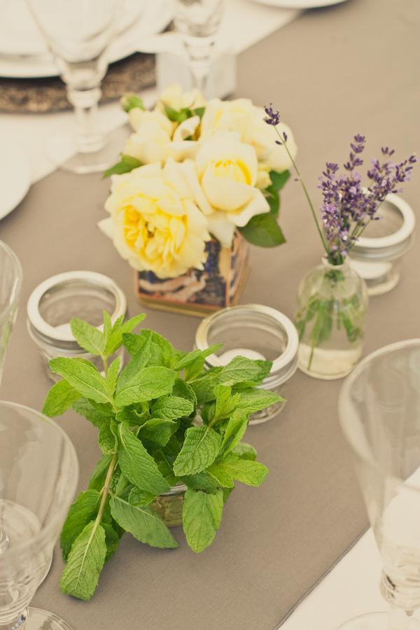 Flowers & Decor, Real Weddings, Wedding Style, Candles, Summer Weddings, West Coast Real Weddings, Summer Real Weddings, Rustic Wedding Flowers & Decor, Summer Wedding Flowers & Decor, Mason jars