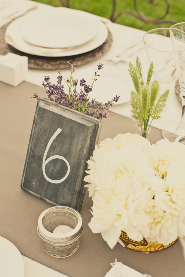 Stationery, Real Weddings, Wedding Style, Table Numbers, Summer Weddings, West Coast Real Weddings, Summer Real Weddings, Chalkboard