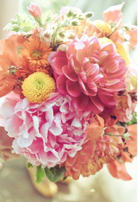 Flowers & Decor, Real Weddings, Wedding Style, pink, Summer Weddings, Summer Real Weddings, Summer Wedding Flowers & Decor, West Coast Weddings