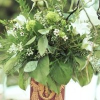 Flowers & Decor, Real Weddings, Wedding Style, green, Centerpieces, Spring Weddings, West Coast Real Weddings, Garden Real Weddings, Spring Real Weddings, Garden Weddings, Garden Wedding Flowers & Decor, Vintage Wedding Flowers & Decor