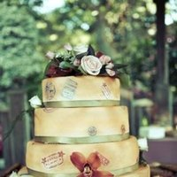 Cakes, Real Weddings, Wedding Style, Wedding Cakes, Spring Weddings, West Coast Real Weddings, Garden Real Weddings, Spring Real Weddings, Garden Weddings