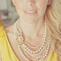 Beauty, Jewelry, Bridesmaids Dresses, Necklaces, West Coast Real Weddings