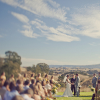 West Coast Real Weddings, Outdoor weddings