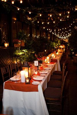 Flowers & Decor, Real Weddings, Wedding Style, orange, Tables & Seating, Fall Weddings, Northeast Real Weddings, City Real Weddings, Fall Real Weddings, City Weddings, Fall Wedding Flowers & Decor, new york weddings, new york real weddings