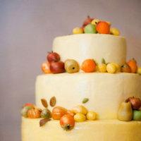 Cakes, Real Weddings, Wedding Style, orange, Wedding Cakes, Fall Weddings, Northeast Real Weddings, City Real Weddings, Fall Real Weddings, City Weddings, new york weddings, new york real weddings