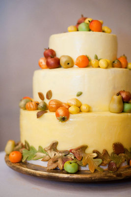 Cakes, Real Weddings, Wedding Style, orange, Wedding Cakes, Fall Weddings, Northeast Real Weddings, City Real Weddings, Fall Real Weddings, City Weddings, new york weddings, new york real weddings