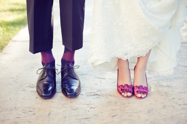 Fashion, Real Weddings, Wedding Style, pink, purple, Fall Weddings, West Coast Real Weddings, Classic Real Weddings, Fall Real Weddings, Classic Weddings, wedding shoes