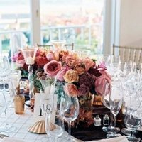 Flowers & Decor, Real Weddings, Wedding Style, pink, Centerpieces, Northeast Real Weddings, Spring Weddings, Spring Real Weddings, Spring Wedding Flowers & Decor