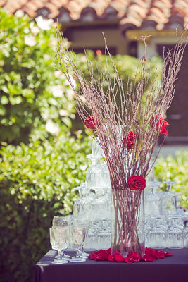 Flowers & Decor, Real Weddings, Wedding Style, red, brown, Centerpieces, Fall Weddings, West Coast Real Weddings, Classic Real Weddings, Fall Real Weddings, Classic Weddings, Fall Wedding Flowers & Decor, Rustic Wedding Flowers & Decor
