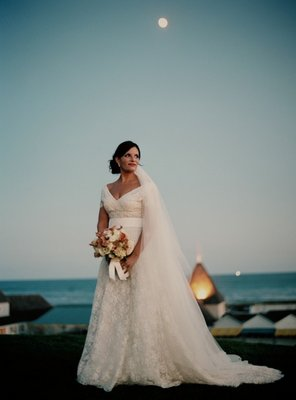 Beach Wedding Dresses, Fashion, Real Weddings, Wedding Style, blue, Beach Real Weddings, Northeast Real Weddings, Spring Weddings, Spring Real Weddings, Beach Weddings