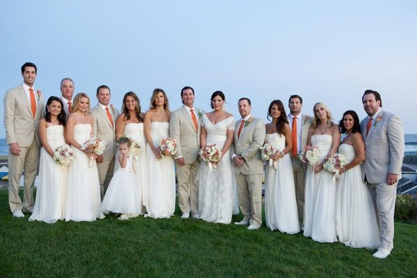 Real Weddings, Wedding Style, white, Beach Real Weddings, Northeast Real Weddings, Spring Weddings, Spring Real Weddings, Beach Weddings
