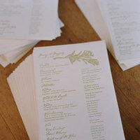 Stationery, Real Weddings, green, Vineyard Wedding Invitations, Ceremony Programs, Rustic Real Weddings, West Coast Real Weddings, Eco-Friendly Real Weddings, Summer Real Weddings, Vineyard Real Weddings, Eco-Friendly Weddings, Rustic Weddings, Vineyard Weddings