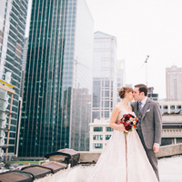Real Weddings, Wedding Style, Fall Weddings, Modern Real Weddings, City Real Weddings, Fall Real Weddings, Midwest Real Weddings, City Weddings, Modern Weddings, Roof, first looks