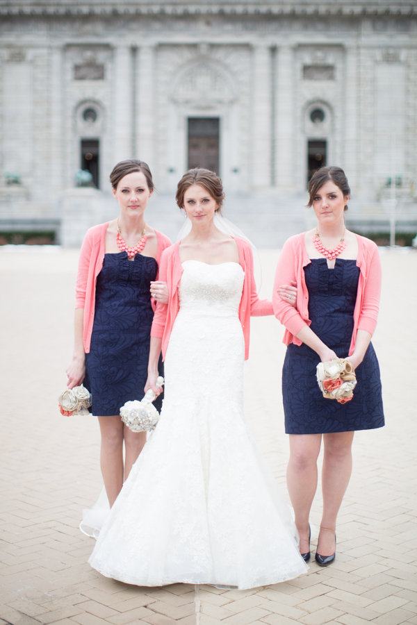 Real Weddings, Wedding Style, pink, blue, Winter Weddings, Winter Real Weddings, preppy weddings, mid-atlantic real weddings, preppy real weddings