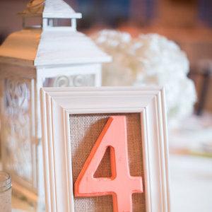 Flowers & Decor, Real Weddings, Wedding Style, pink, Table Numbers, Winter Weddings, Vintage Real Weddings, Winter Real Weddings, Vintage Weddings, Vintage Wedding Flowers & Decor, mid-atlantic real weddings