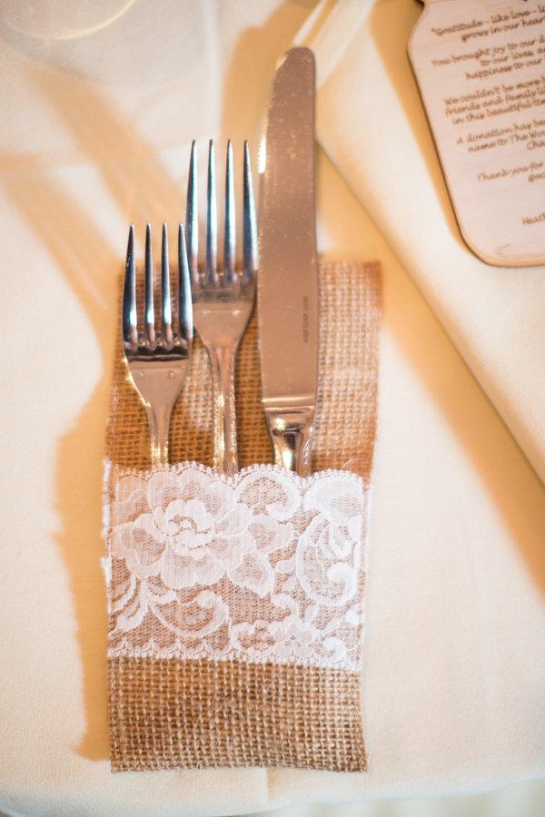 Flowers & Decor, Real Weddings, Wedding Style, brown, Winter Weddings, Vintage Real Weddings, Winter Real Weddings, Vintage Weddings, Vintage Wedding Flowers & Decor, Burlap, mid-atlantic real weddings