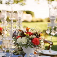 Flowers & Decor, Real Weddings, Wedding Style, white, ivory, red, green, Centerpieces, Rustic Real Weddings, Spring Weddings, West Coast Real Weddings, Classic Real Weddings, Spring Real Weddings, Vintage Real Weddings, Classic Weddings, Rustic Weddings, Vintage Weddings, Classic Wedding Flowers & Decor, Vintage Wedding Flowers & Decor