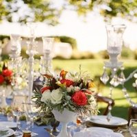 Flowers & Decor, Real Weddings, Wedding Style, white, red, blue, Rustic Real Weddings, Spring Weddings, West Coast Real Weddings, Classic Real Weddings, Spring Real Weddings, Vintage Real Weddings, Classic Weddings, Rustic Weddings, Vintage Weddings, Classic Wedding Flowers & Decor, Vintage Wedding Flowers & Decor, Table settings