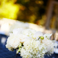 Flowers & Decor, Stationery, Real Weddings, Wedding Style, white, blue, Centerpieces, Table Numbers, Summer Weddings, West Coast Real Weddings, Classic Real Weddings, Summer Real Weddings, Classic Weddings, Classic Wedding Flowers & Decor, Summer Wedding Flowers & Decor
