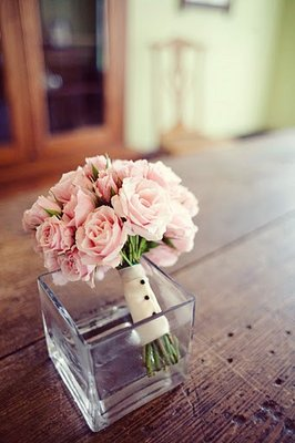 Flowers & Decor, Real Weddings, Wedding Style, pink, Southern Real Weddings, Garden Real Weddings, Garden Weddings, Classic Wedding Flowers & Decor, Roses, flower girl bouquets, romantic wedding flowers & decor