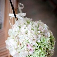 Flowers & Decor, Real Weddings, Wedding Style, pink, green, Aisle Decor, Southern Real Weddings, Garden Real Weddings, Garden Weddings, Garden Wedding Flowers & Decor, Summer Wedding Flowers & Decor, Hydrangea