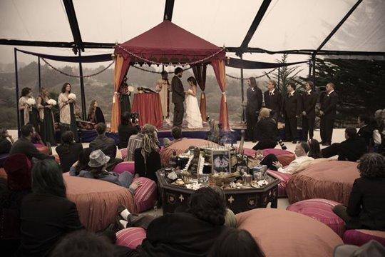 Real Weddings, Wedding Style, orange, pink, red, Summer Weddings, West Coast Real Weddings, Boho Chic Real Weddings, Summer Real Weddings, Boho Chic Weddings