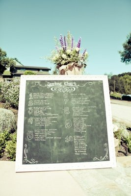 Flowers & Decor, Real Weddings, Wedding Style, Fall Weddings, Rustic Real Weddings, West Coast Real Weddings, Fall Real Weddings, Rustic Weddings, Rustic Wedding Flowers & Decor, Chalkboard