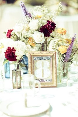 Flowers & Decor, Stationery, Real Weddings, Wedding Style, Table Numbers, Fall Weddings, Rustic Real Weddings, West Coast Real Weddings, Fall Real Weddings, Rustic Weddings, Fall Wedding Flowers & Decor
