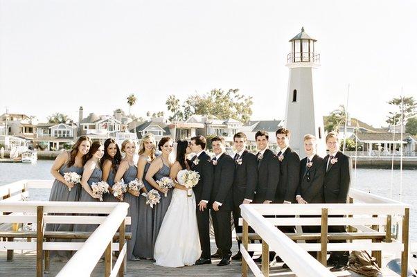 Beach Real Weddings, West Coast Real Weddings, Classic Real Weddings