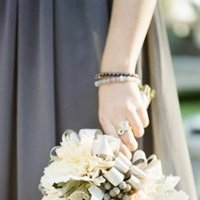 Flowers & Decor, Real Weddings, Wedding Style, gray, Bridesmaid Bouquets, West Coast Real Weddings, Classic Real Weddings, Classic Weddings