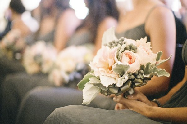 Flowers & Decor, Real Weddings, Wedding Style, pink, Bridesmaid Bouquets, Beach Real Weddings, West Coast Real Weddings, Classic Real Weddings, Beach Weddings, Classic Weddings, Classic Flowers & Decor
