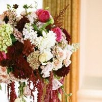 Flowers & Decor, Real Weddings, Wedding Style, red, Ceremony Flowers, Beach Real Weddings, West Coast Real Weddings, Classic Real Weddings, Beach Weddings, Classic Weddings, Classic Flowers & Decor