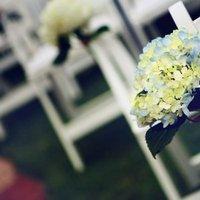 Flowers & Decor, Real Weddings, Wedding Style, Ceremony Flowers, Aisle Decor, Midwest Real Weddings, Vintage Real Weddings, Vintage Weddings, Spring Wedding Flowers & Decor, Military weddings
