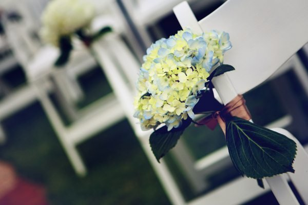 Flowers & Decor, Real Weddings, Wedding Style, Ceremony Flowers, Aisle Decor, Midwest Real Weddings, Vintage Real Weddings, Vintage Weddings, Spring Wedding Flowers & Decor, Military weddings