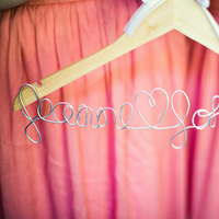 Real Weddings, Wedding Style, Summer Weddings, West Coast Real Weddings, Garden Real Weddings, Summer Real Weddings, Garden Weddings, wedding hangers