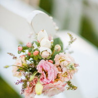 Flowers & Decor, Real Weddings, Wedding Style, pink, Ceremony Flowers, Aisle Decor, Summer Weddings, West Coast Real Weddings, Garden Real Weddings, Summer Real Weddings, Garden Weddings, Garden Wedding Flowers & Decor, Summer Wedding Flowers & Decor