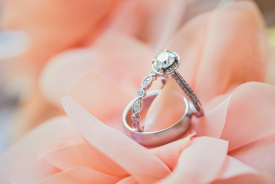 Jewelry, Real Weddings, Wedding Style, Engagement Rings, Wedding Bands, Summer Weddings, West Coast Real Weddings, Garden Real Weddings, Summer Real Weddings, Garden Weddings