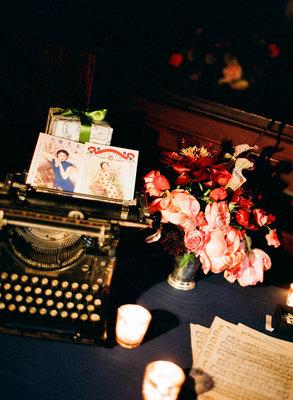 Flowers & Decor, Real Weddings, Wedding Style, pink, Fall Weddings, Northeast Real Weddings, Modern Real Weddings, City Real Weddings, Fall Real Weddings, City Weddings, Modern Weddings, Vintage Wedding Flowers & Decor