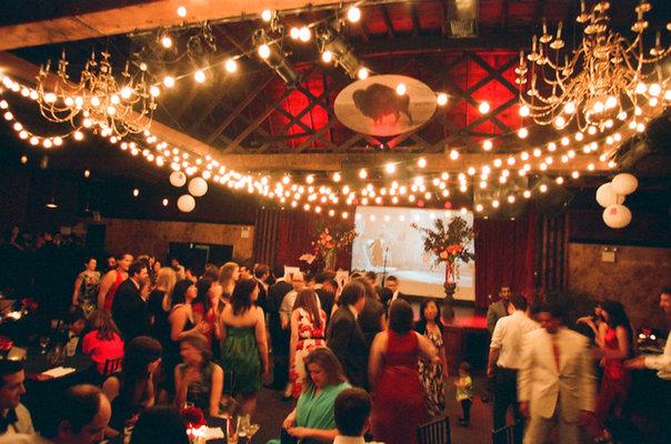 Flowers & Decor, Real Weddings, Wedding Style, red, Lighting, Fall Weddings, Northeast Real Weddings, Modern Real Weddings, City Real Weddings, Fall Real Weddings, City Weddings, Modern Weddings, Modern Wedding Flowers & Decor