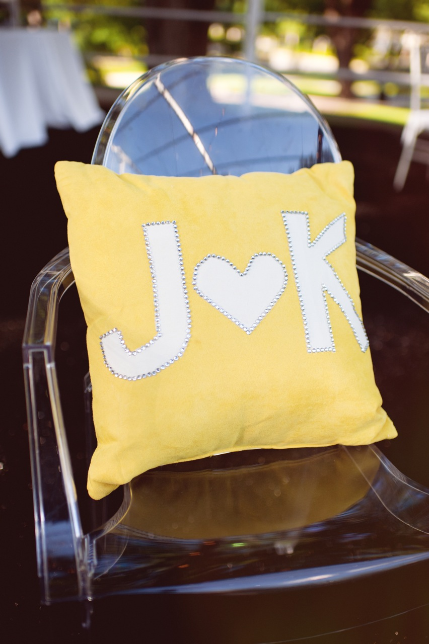 Reception, Real Weddings, Wedding Style, yellow, Southern Real Weddings, Summer Weddings, Summer Real Weddings, Pillow, Logo, Graphic, Southern weddings, Ghost Chair
