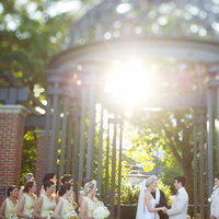 Ceremony, Real Weddings, Wedding Style, yellow, Outdoor, Southern Real Weddings, Summer Weddings, Summer Real Weddings, Southern weddings, Wedding venue