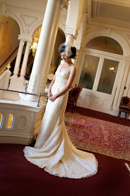 Vintage Wedding Dresses, Fashion, Real Weddings, Wedding Style, Spring Weddings, West Coast Real Weddings, Shabby Chic Real Weddings, Spring Real Weddings, Shabby Chic Weddings