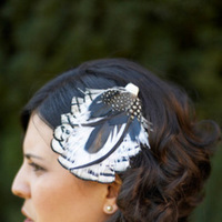 Beauty, Real Weddings, Wedding Style, Short Hair, Feathers, Spring Weddings, West Coast Real Weddings, Shabby Chic Real Weddings, Spring Real Weddings, Shabby Chic Weddings