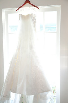 Real Weddings, dress, Veil