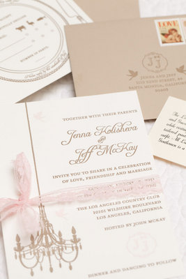 Stationery, Real Weddings, Wedding Style, ivory, pink, Classic Wedding Invitations, Invitations, Classic Real Weddings, Classic Weddings
