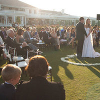 Ceremony, Real Weddings, Outdoor, Golf course