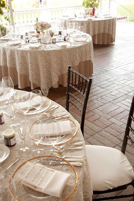 Reception, Real Weddings, Classic, Place Settings, Romantic